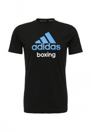 Футболка спортивная adidas Combat. Цвет: черный