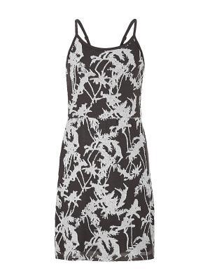 Платье S.OLIVER. Цвет: темно-серый