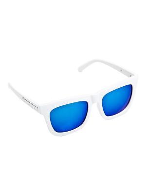 Солнцезащитные очки Kameo-bis. Цвет: белый, синий