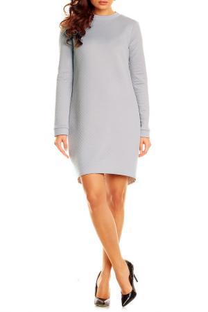 Платье Karen. Цвет: серый