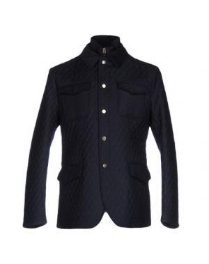 Куртка PAOLONI. Цвет: темно-синий