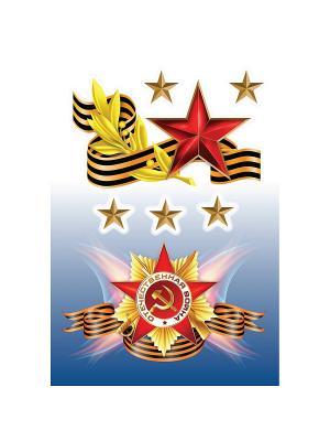 Символы армии DECORETTO. Цвет: желтый, коричневый, красный