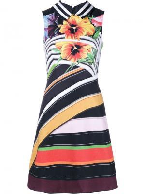 Платье Alpina с цветочным узором Mary Katrantzou. Цвет: многоцветный