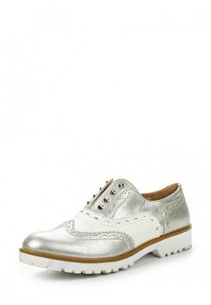 Ботинки Prendimi. Цвет: серебряный