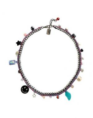 Ожерелье VENESSA ARIZAGA. Цвет: свинцово-серый