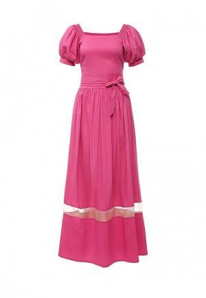 Платье Piena. Цвет: фуксия