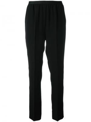 Сужающиеся костюмные брюки Maison Margiela. Цвет: чёрный