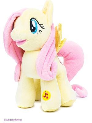 Мягкая игрушка Пони Флаттершай Мульти-пульти. Цвет: светло-желтый, бледно-розовый