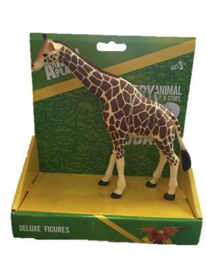 Фигурка Mojo (Animal Planet) в индивидуальной упаковке - Жираф (XL). Цвет: оранжевый, желтый
