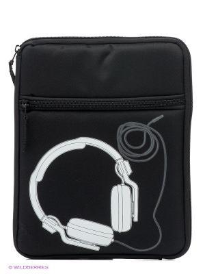 Чехол для iPad DJ - B&W Kawaii Factory. Цвет: черный