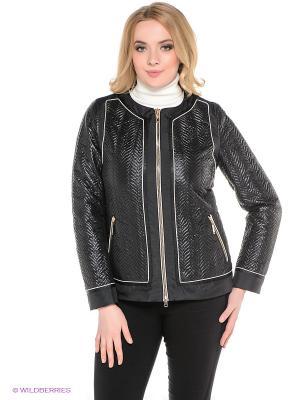Куртка Sinta Via. Цвет: черный