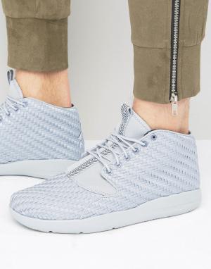 Jordan Серые кроссовки чукка Nike Air Eclipse 881453-003. Цвет: серый