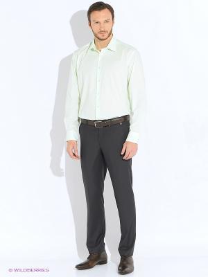 Рубашка Greg Horman. Цвет: салатовый