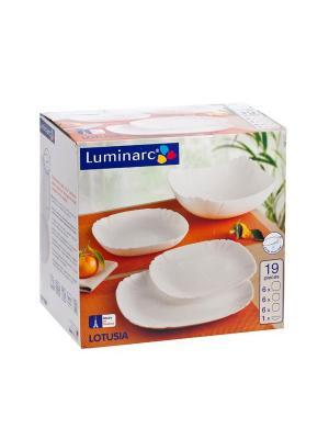 Сервиз столовый Luminarc. Цвет: прозрачный