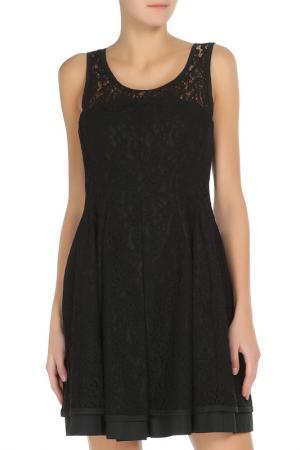 Платье PHILOSOPHY. Цвет: черный
