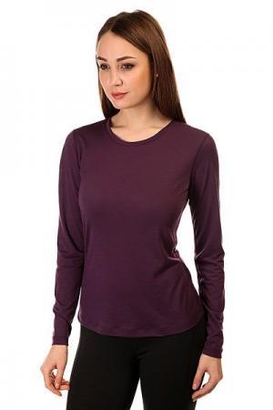 Термобелье (верх) женский  Base Ls 140 Purple Super Natural. Цвет: фиолетовый