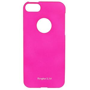 Чехол для iPhone 5  Ringke Slim с окном логотипа Pink Rearth. Цвет: розовый