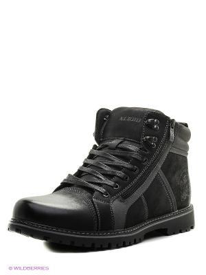 Ботинки KEDDO. Цвет: черный, серый