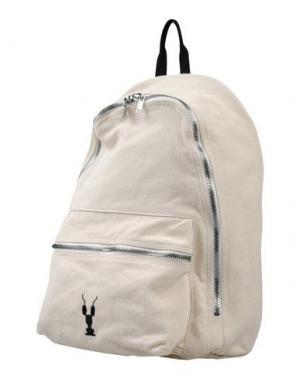 Рюкзаки и сумки на пояс DRKSHDW by RICK OWENS. Цвет: бежевый