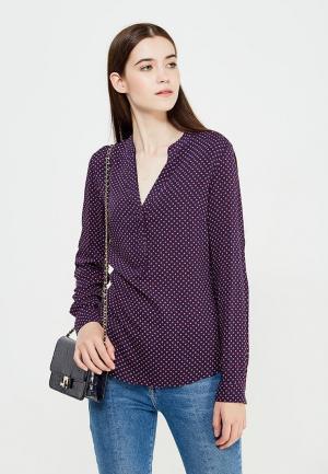 Блуза oodji. Цвет: фиолетовый