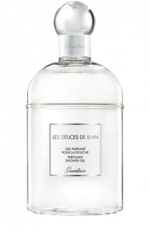 Гель для душа Delices de Bain Guerlain. Цвет: бесцветный