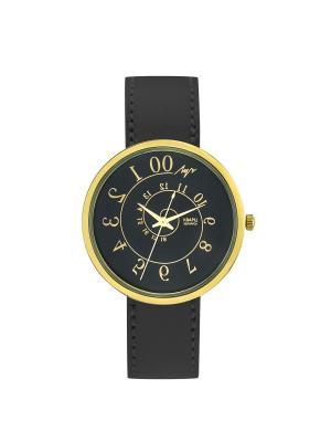Часы наручные ЛУЧ.. Цвет: черный