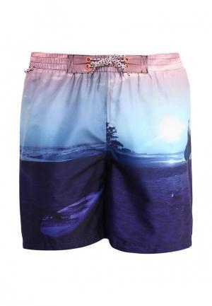 Комплект шорты для плавания и сланцы E-Bound. Цвет: разноцветный