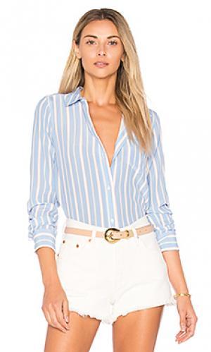 Рубашка kate Rails. Цвет: синий