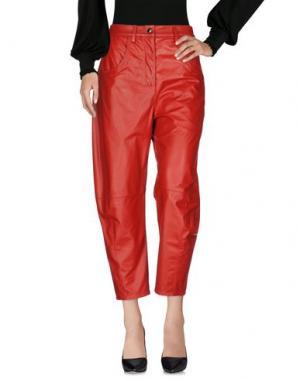 Повседневные брюки KENZO. Цвет: красный