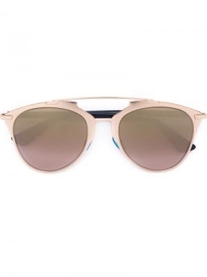 Солнцезащитные очки Reflected Dior Eyewear. Цвет: синий