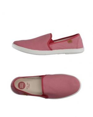Низкие кеды и кроссовки GIOSEPPO. Цвет: пастельно-розовый