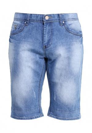 Шорты джинсовые Justboy. Цвет: голубой