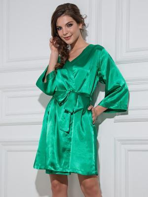 Халат MIA-MELLA. Цвет: зеленый