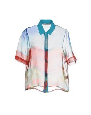 Pубашка ANGELO MARANI. Цвет: небесно-голубой