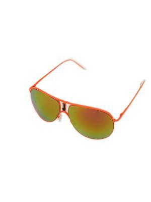 Очки солнцезащитные Mitya Veselkov. Цвет: оранжевый