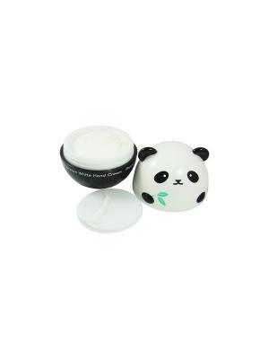 Осветляющий крем для рук PANDAS DREAM WHITE, 30г, Tony Moly. Цвет: белый
