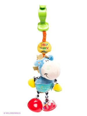 Мягкая игрушка-подвеска Ослик Playgro. Цвет: голубой, красный, бирюзовый