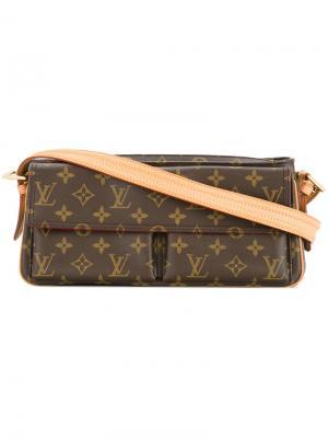 Сумка на плечо Viva Cite MM Louis Vuitton Vintage. Цвет: коричневый