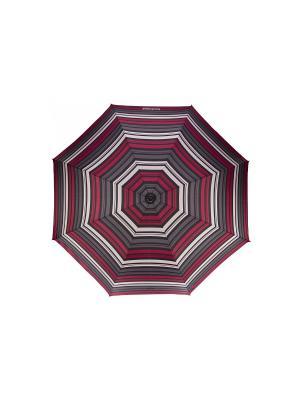 Зонты Isotoner. Цвет: серый, белый, малиновый
