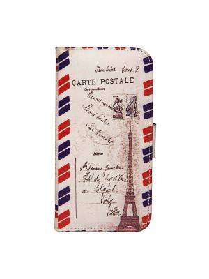 Чехол для IPhone 6 Почта Парижа Mitya Veselkov. Цвет: белый, синий, коричневый, красный