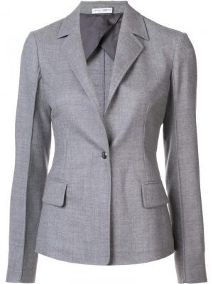 Пиджак Showroom Barbara Casasola. Цвет: серый