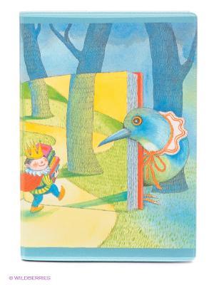 Обложка для автодокументов Дорога в сказочный лес Mitya Veselkov. Цвет: серо-голубой