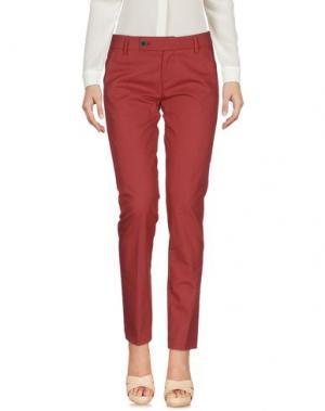 Повседневные брюки ALYSI. Цвет: кирпично-красный