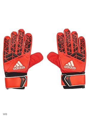 Вратарские перчатки взр. ACE TRAINING RED/CBLACK/WHITE Adidas. Цвет: красный