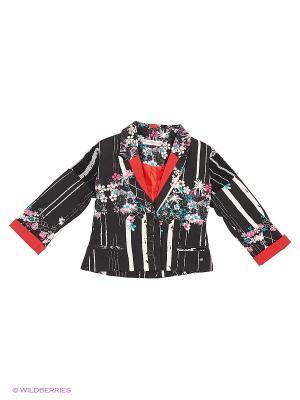 Пиджак, Junee, цвет черный/мульти (Hawallan Black) SUPERTRASH. Цвет: черный, белый