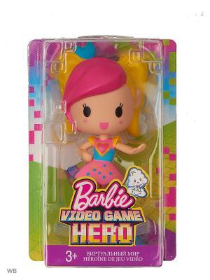 Маленькие куклы из серии Barbie и виртуальный мир. Цвет: лиловый