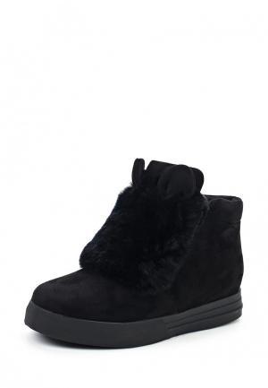 Ботинки Bona Mente. Цвет: черный