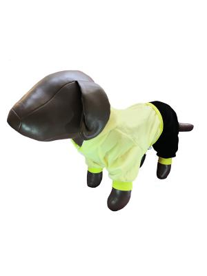 Спортивный костюм с капюшоном Pet's Fashion. Цвет: желтый