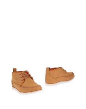 Полусапоги и высокие ботинки BOXFRESH. Цвет: верблюжий
