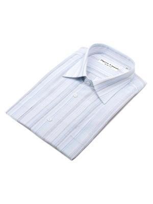 Рубашка Pierre Lauren. Цвет: светло-зеленый, белый